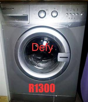 defy washing machine for sale