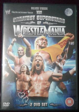 2 Disc DVD Wrestling Set