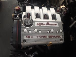 Alfa 147 AR323 2.0 16V Twinspark Engine For Sale