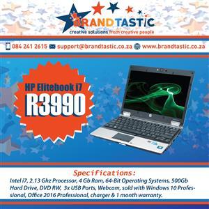 Lighting-fast HP Elitebook i7 Notebook @ R3990