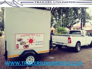 2000 X 1800 X 2000 CATERING MOBILE KITCHEN. SUNSHINE FAST FOOD.