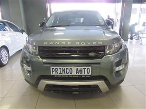 2015 Land Rover Range Rover Evoque Autobiography Si4
