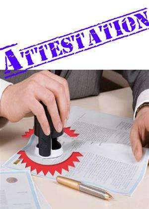 Attestation of Documents   Authenticate your Documents today ; 0123210610,0829382873