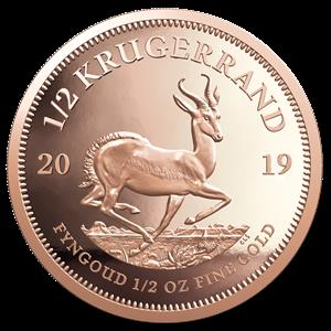 Krugerrands - 1oz Gold 22ct