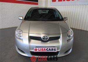 2009 Toyota Auris 1.8 RS