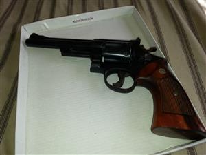 Smith & Wesson revolver