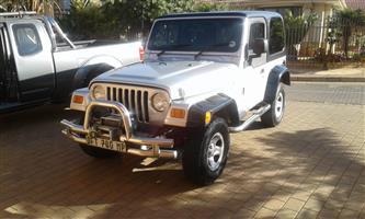 2006 Jeep Wrangler 4.0L Sport