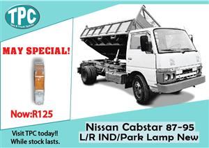 Nissan Cabstar Left/Right IND/Park Lamp New for Sale at TPC