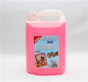 Quattro 500 Water based degreaser 5L