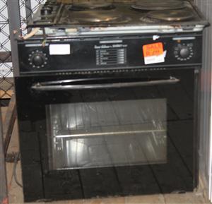 Samet ne3f 4 plate stove with oven S029278A #Rosettenvillepawnshop