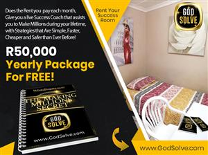 R2400 Single Room - Godsolve Accommodation for Godly tenants who live by great principles. Deposit Applies
