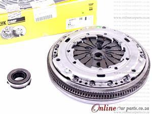 VW CROSSPOLO III 1.6 TDI 10-15 CAYC 16V 77KW Complete Clutch DMF Dual Mass Flywheel