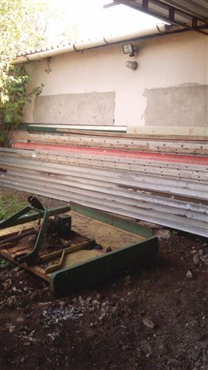 Aluminium ladders 5 to 7 meter for sale
