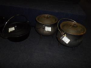 Cast Iron Pots
