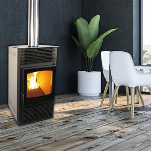 LAVA MAGMA PELLET FIREPLACE