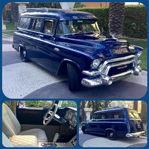 1956 GMC 100 panelvan