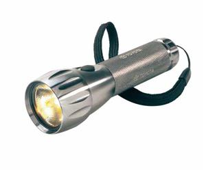 Aluminium LED torch titanium!! On Special!!!