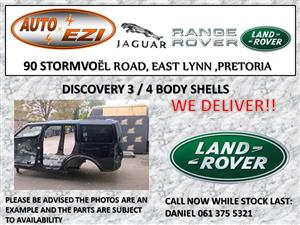 LAND ROVER DISCOVERY 3 AND 4 BODY SHELLS