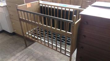 Vintage wooden cot for sale