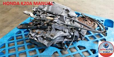 IMPORTED USED HONDA K20A MANUAL GEARBOX