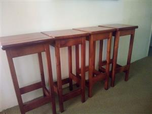 4 Bar Stools for sale