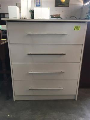 New white chest of drawers