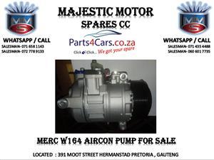 mercedes benz w164 air con pump for sale