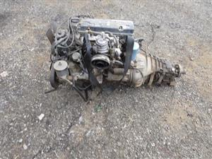 MERCEDES BENZ W124 ENGINE AND GEARBOX FOR SALE | Junk Mail