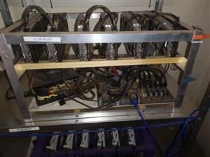 Complete GPU Crypto Mining Farm For Sale! Mine BTC/LTC/ETH/Monero!
