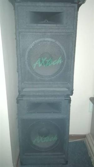 2 Speakers for sale