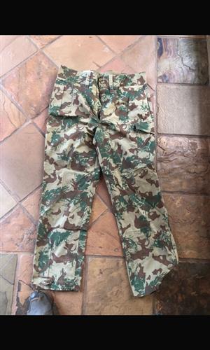 Camo ISD /ABS pre 1994 combat pants