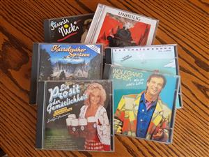 German CD's (R 10 each)