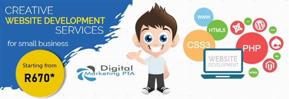 Website Design & SEO (Search Engine Optimization) Service by Digital Marketing Pretoria