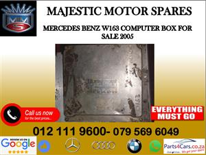Mercedes benz W163 computer box for sale