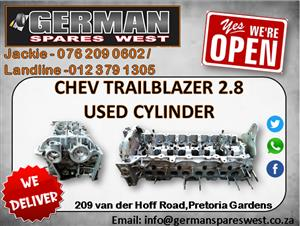CHEV TRAILBLAZER 2.8 USED CYLINDERHEAD FOR SALE