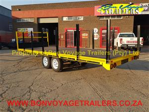 6 Meter Flatbed with uprights