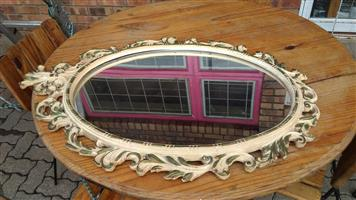 Antique framed mirror for sale