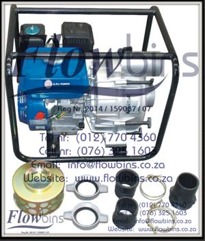 "Gauteng: CRI Petrol / Diesel Driven WATER Pumps - Self Priming - 2""/50mm to 3""/75mm"