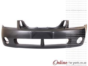 KIA Cerato MK I Sedan Plain Front Bumper + Fog Light Fog Lamp Holes  2005-2008