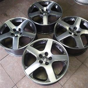 17 Inch Golf 4 Gti Rims Without Tyres Junk Mail