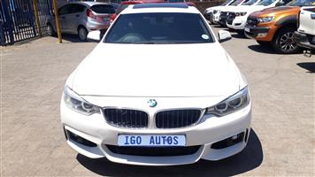 2015 BMW 4 Series Gran Coupe 420i GRAN COUPE M SPORT  A/T (F36)