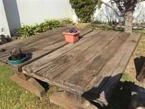 Sleeper Wood Tables