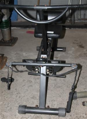 Body row rowing machine S031460D #Rosettenvillepawnshop