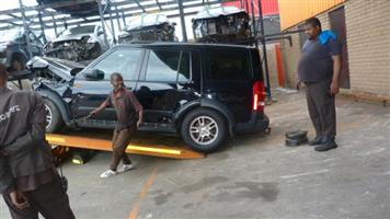 Stripping this vehicle  LAND ROVER DISCOVERY 3 TD V6 2008