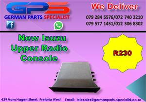 New Isuzu Upper Radio Console for Sale