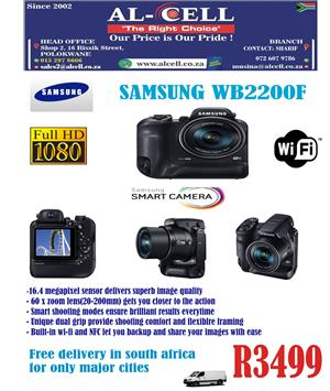 SAMSUNG Smart Digital Camera WB2200F