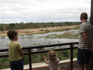 Kruger Park - Ngwenya Lodge 6-13 Dec 2019, Luxury riverfront unit on Hippo Bend for 6 adults