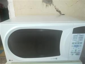 Big lg touch screen microwave