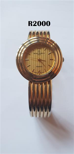 Michell Herbelin Paris Gold Watch