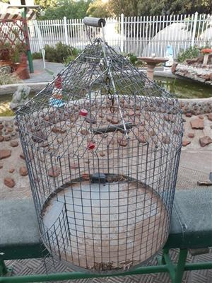 Round budgie cage for sale